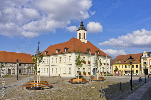 Leinwandbild Motiv Angermünde, Deutschland
