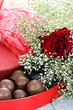Chocolates and Beauitful Roses
