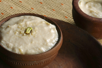 Misti Doi is a popular dessert in the states of West Bengal.