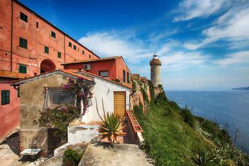 Insel Elba Italien Leuchtturm Portoferraio