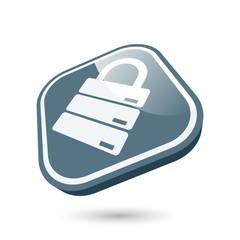 sicherheit datenbank symbol modern icon