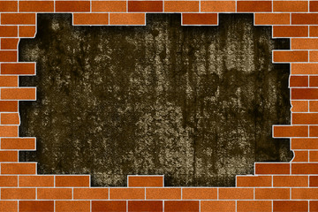 Brick Wall Frame