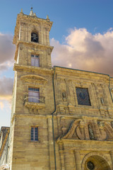 Church of San Isidoro el Real (Constitution Square) in Oviedo, S