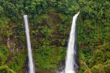 Tad Fan Waterfall in southern Laos