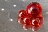 Red Marbles Strainer