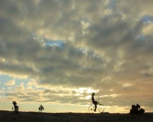 eğlenceli bisiklet sürmek