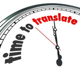 Time to Translate Language Interpret Clock Understand Different