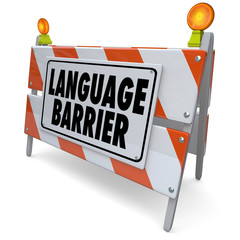 Language Barrier Translation Interpret Message Meaning Words
