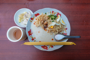 Myanmar local noodle