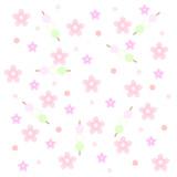 三色団子 桜の花 背景