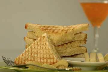 Cheese grilled Toast
