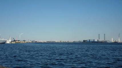 横浜港 インターバル撮影