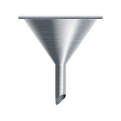 metallic funnel