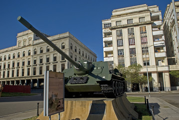 Fidel Castro's tank, Havana, Cuba