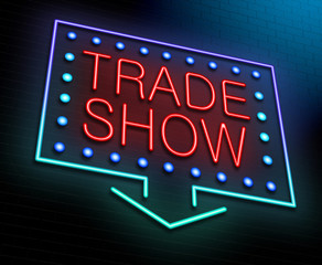 Trade show concept.