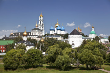 Holy Trinity Sergius Lavra. Sergiev Posad. Russia