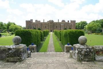 Hesrstmonceux Castle, East Sussex, England