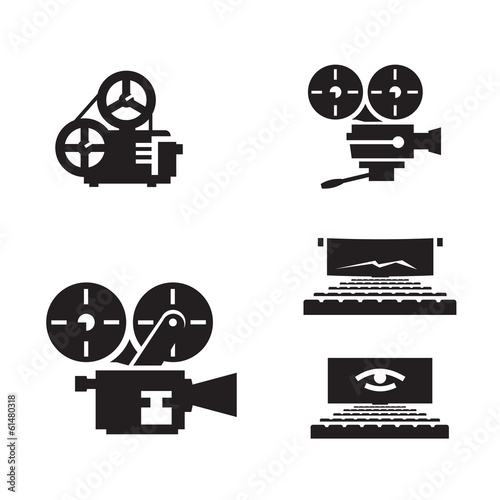 Cinema. Vector format