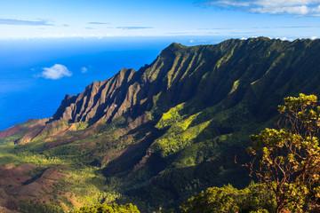 Napali Coast Mountains