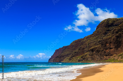 Beautiful Polihale Beach