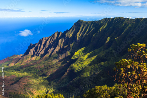 Napali Coast Mountains