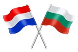 Flags: Bulgaria and the Netherlands