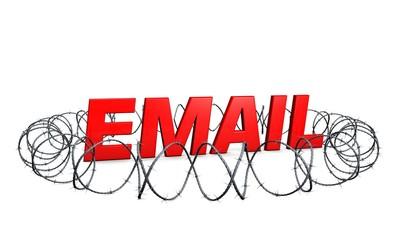 Email-Sicherheit-rot
