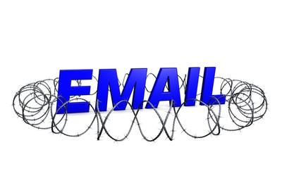 Email-Sicherheit-blau