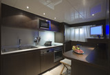 Italy, Tuscany, luxury yacht, kitchen