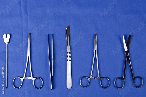 A set of surgical