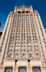 Russian Foreign Ministry  in Moscow, Russia