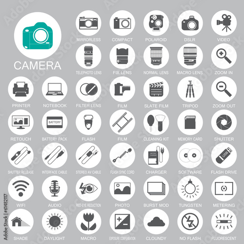 camera Photography icons