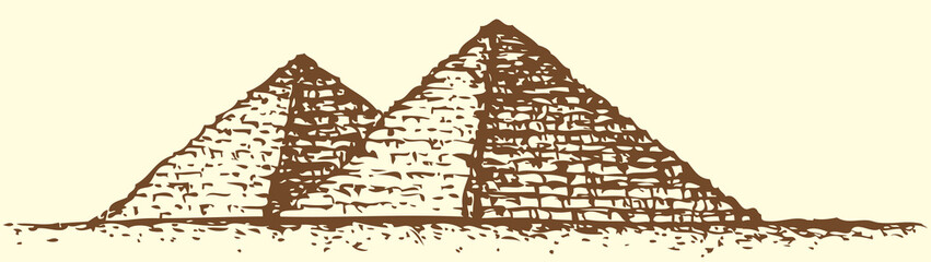 "Series ""Seven Wonders of the Ancient World"". Pyramid of Giza"