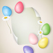 Vector Illustraion of an Easter Background