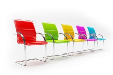 3D - Stühle (III)