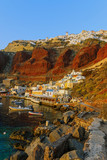 Oia and the port of Ammoudi