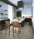 Kitchen in a modern style
