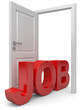 Tür und Job
