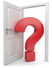 wer betritt die Tür