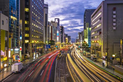 Foto op Plexiglas Japan Hiroshima, Japan cityscape