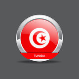 Tunisia Flag Vector Icon
