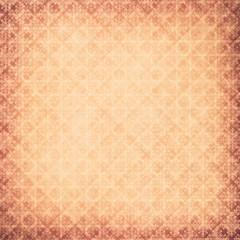 Grunge retro patterned background
