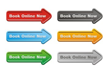 book online now - arrow buttons