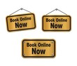 book online now - bronze signs