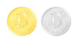Gold and silver Bitcoin digital currency