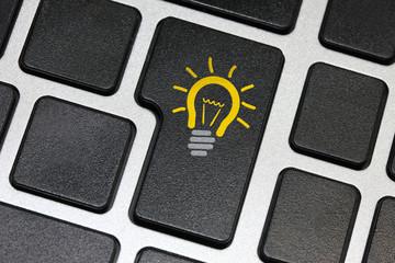 Idea key on keyboard