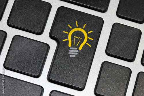 Idea key on keyboard