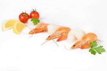 Spiedino di pesce