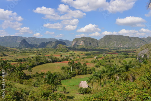 View over Vinales in Cuba