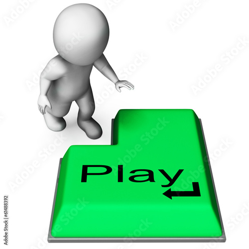 Play Key Means Online Playing And Entertainment